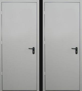 металлические огнеупорные двери от производителя