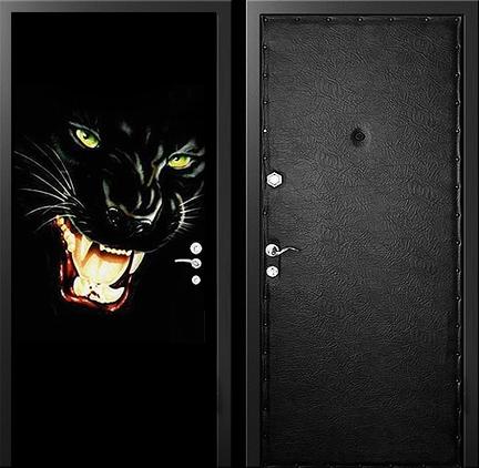 двери металлические входные с узором