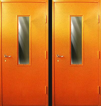 входные двери с двумя дверями для склада