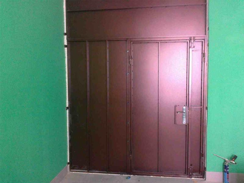 Разрешение на установку тамбурной двери