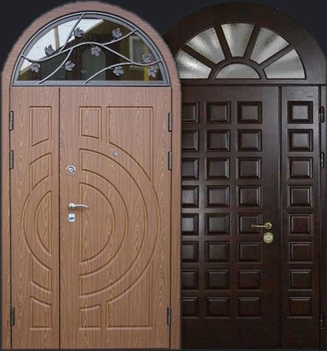 купить стальную дверь с фрамугой