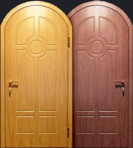 металлическая дверь в верее