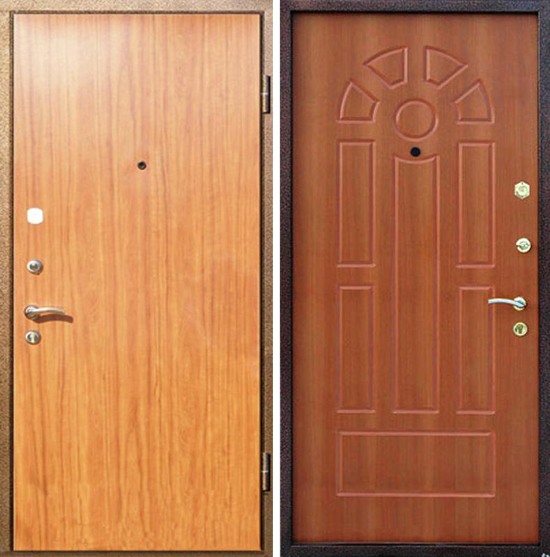 дверь входная снаружи мдф