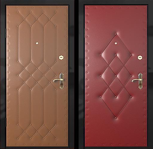 дутая входная дверь