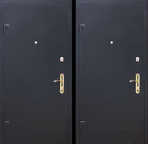 дверь железный двух сторон